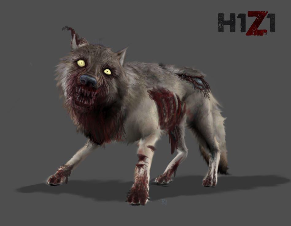H1Z1 - Infizierter Wolf