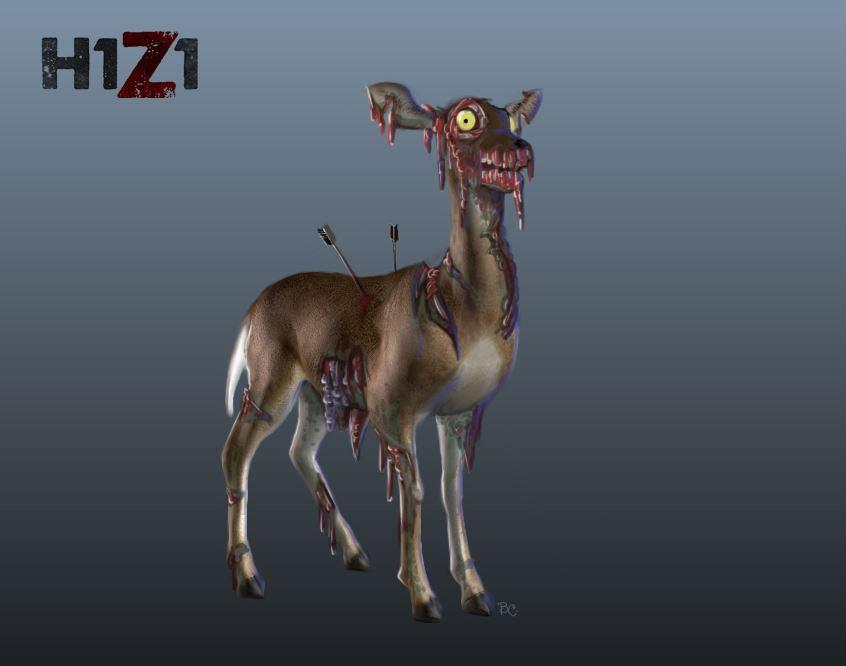 H1Z1 - Infiziertes Reh