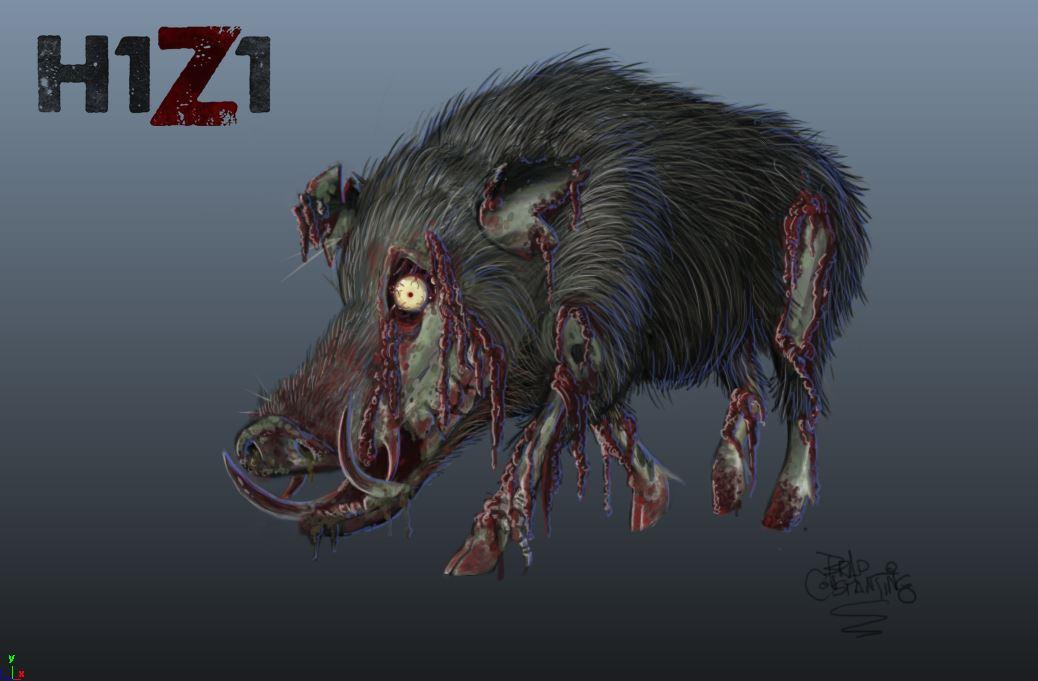 H1Z1 - Infiziertes Wildschwein