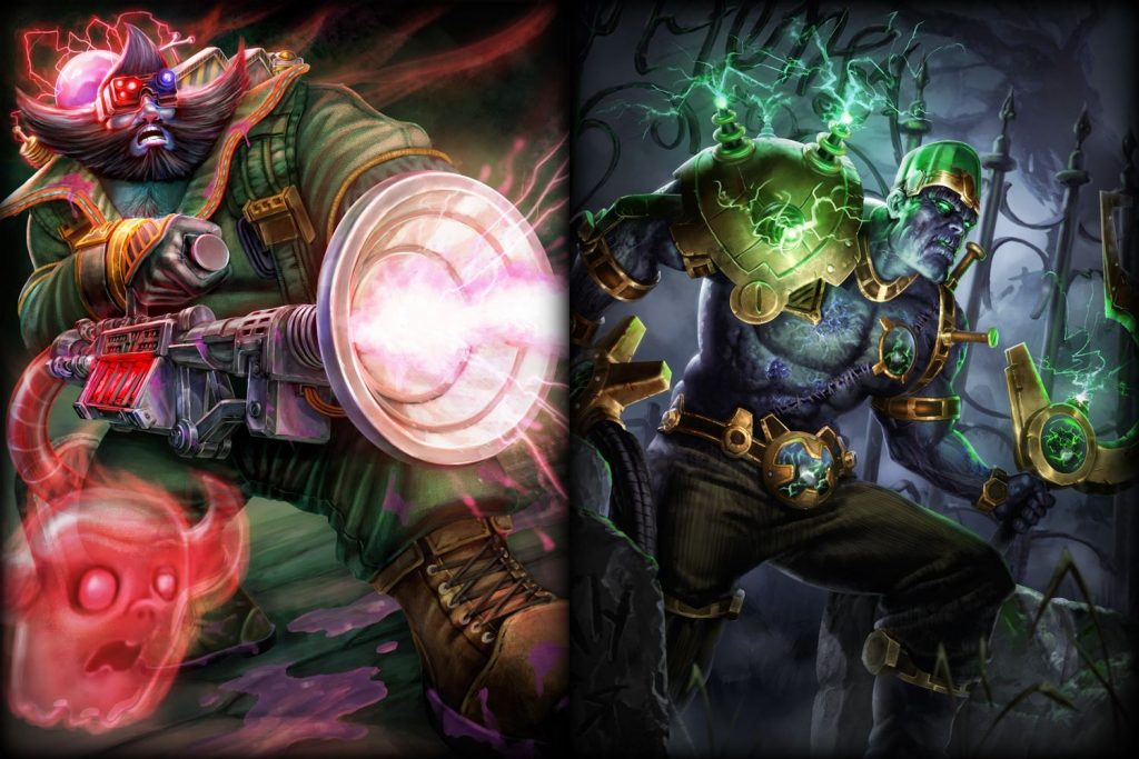SMITE - Halloween Skins Zhong Kui und Osiris