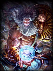 Smite Zeus Artwork