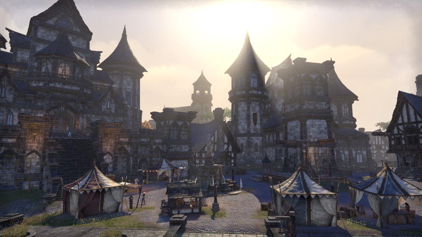 The Elder Scrolls Online Umgebung