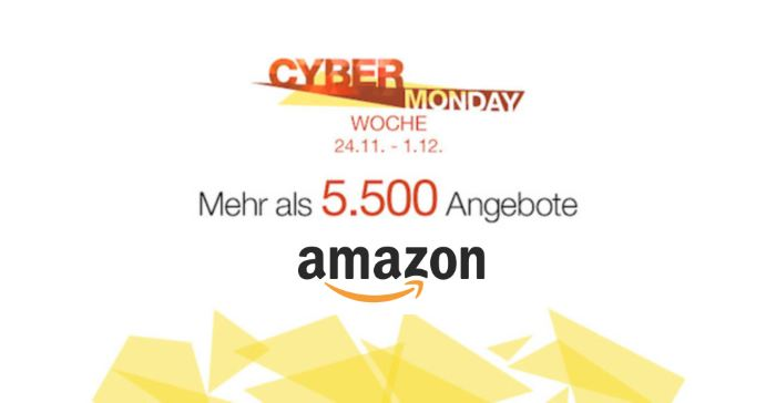 Amazon Cyber Monday: Schnäppchen am 28.11