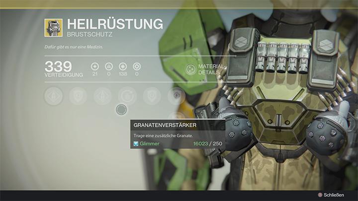 Destiny-Heilrüstung