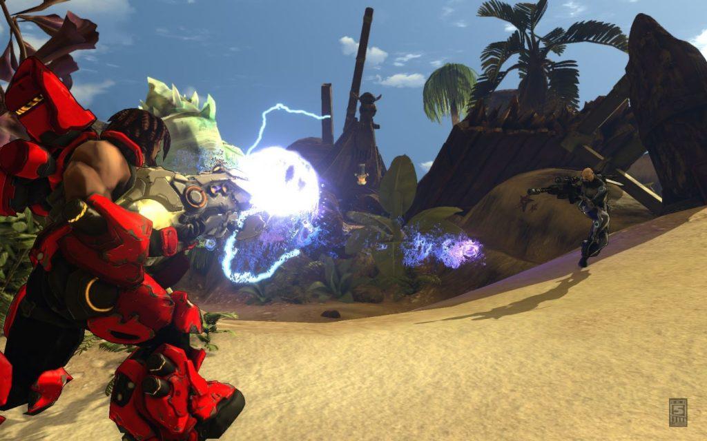 Firefall Gameplay Screenshot