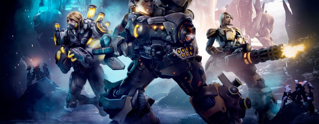 MMO-Shooter Firefall bringt ersten Gruppen-Dungeon
