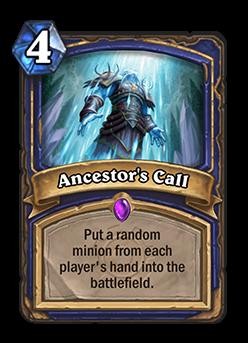 Hearthstone-Ancestor's-Call