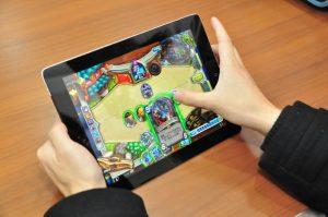 Hearthstone auf Tablet