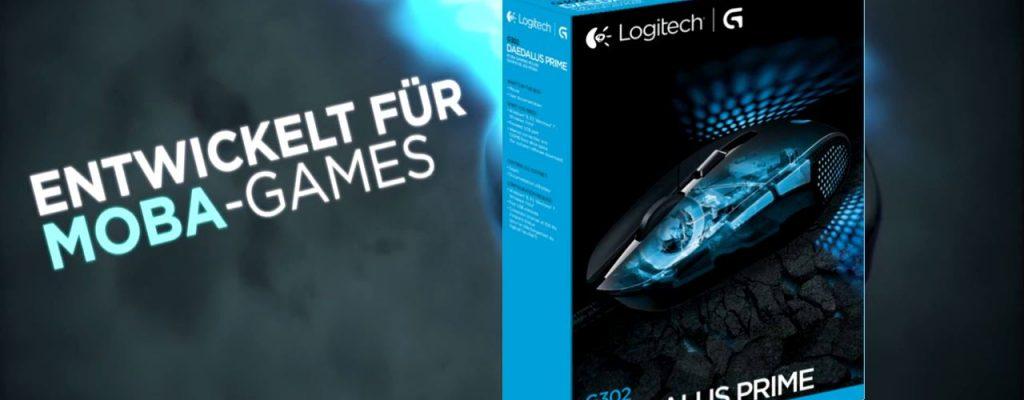Logitech G302 Daedalus Prime: Moba Gaming Maus für League of Legends, SMITE, Dota 2 & Co.