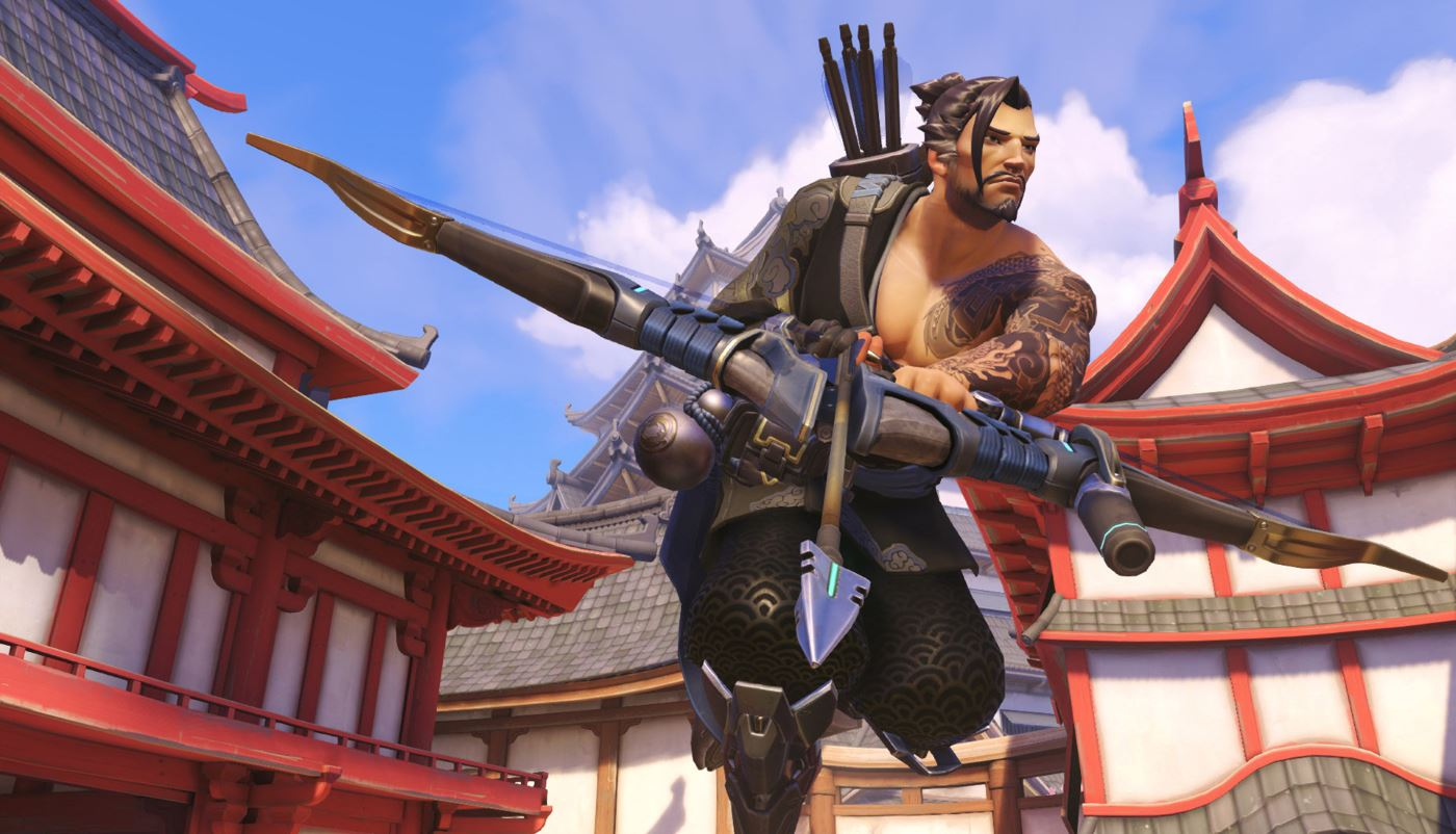 Overwatch Hanzo Screenshot
