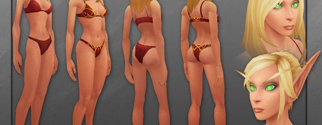 World of Warcraft: So sehen die neuen Blutelfen Modelle aus