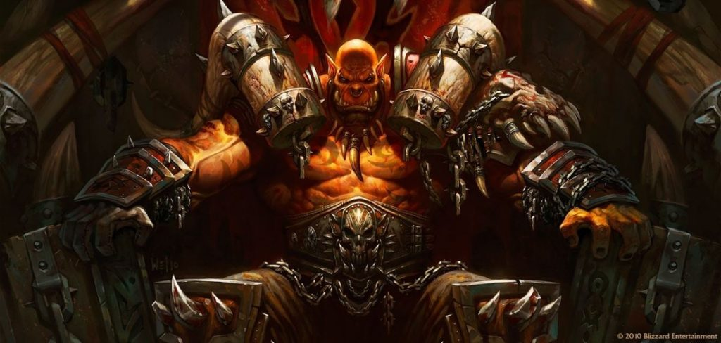 World of Warcraft Warlords of Draenor Test