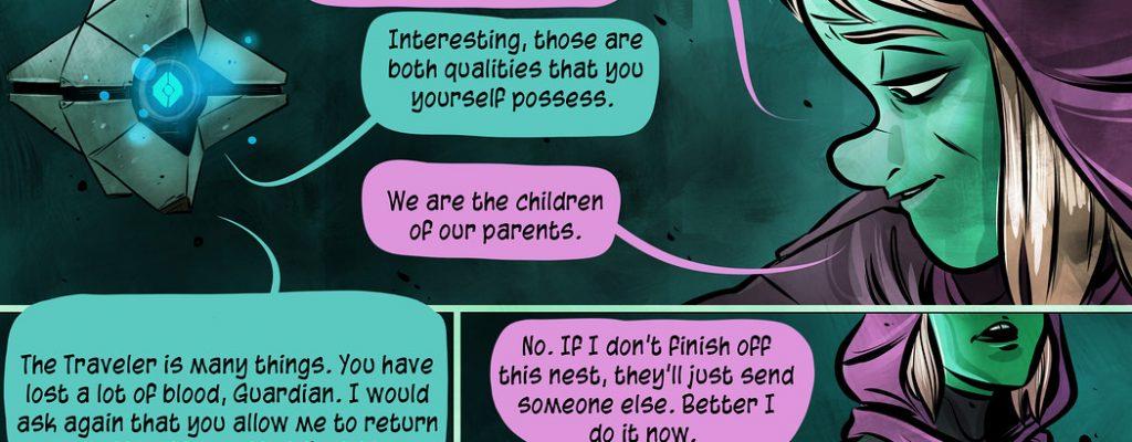 Destiny: Gänsehaut-Comic verzückt die Fans
