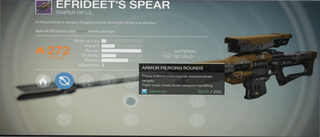Destiny-Efrideet's-Spear