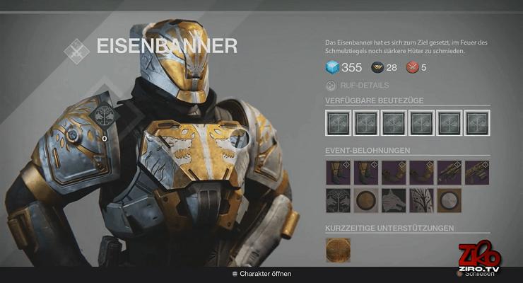 Destiny: Lohnt sich das Eisenbanner 3.0 im Dezember? Was gibt es für Rüstungen, Waffen, Belohnungen?