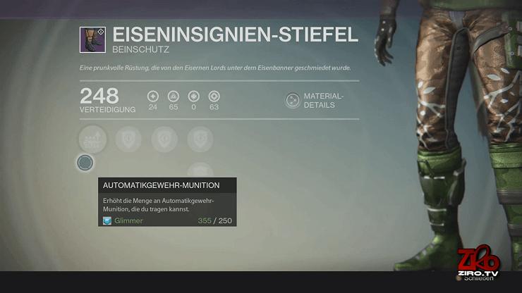 Destiny-Eisenbanner-Stiefel