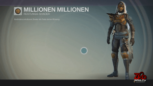Destiny-Millionen-Millionen-Shader