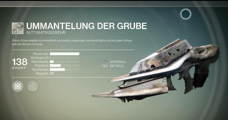 Destiny: Husk of the Pit, Vorstufe zur Necrochasm, wurde gesichtet, seit gestern im Spiel