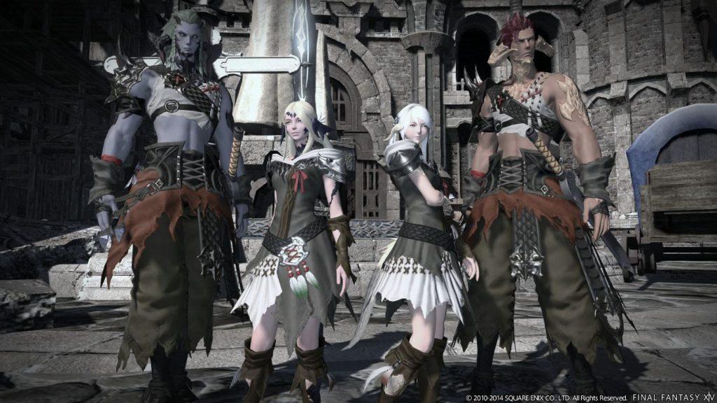 Final Fantasy XIV - Au Ra