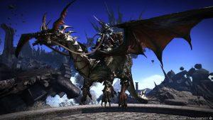 Final Fantasy XIV - Drachen-Mount