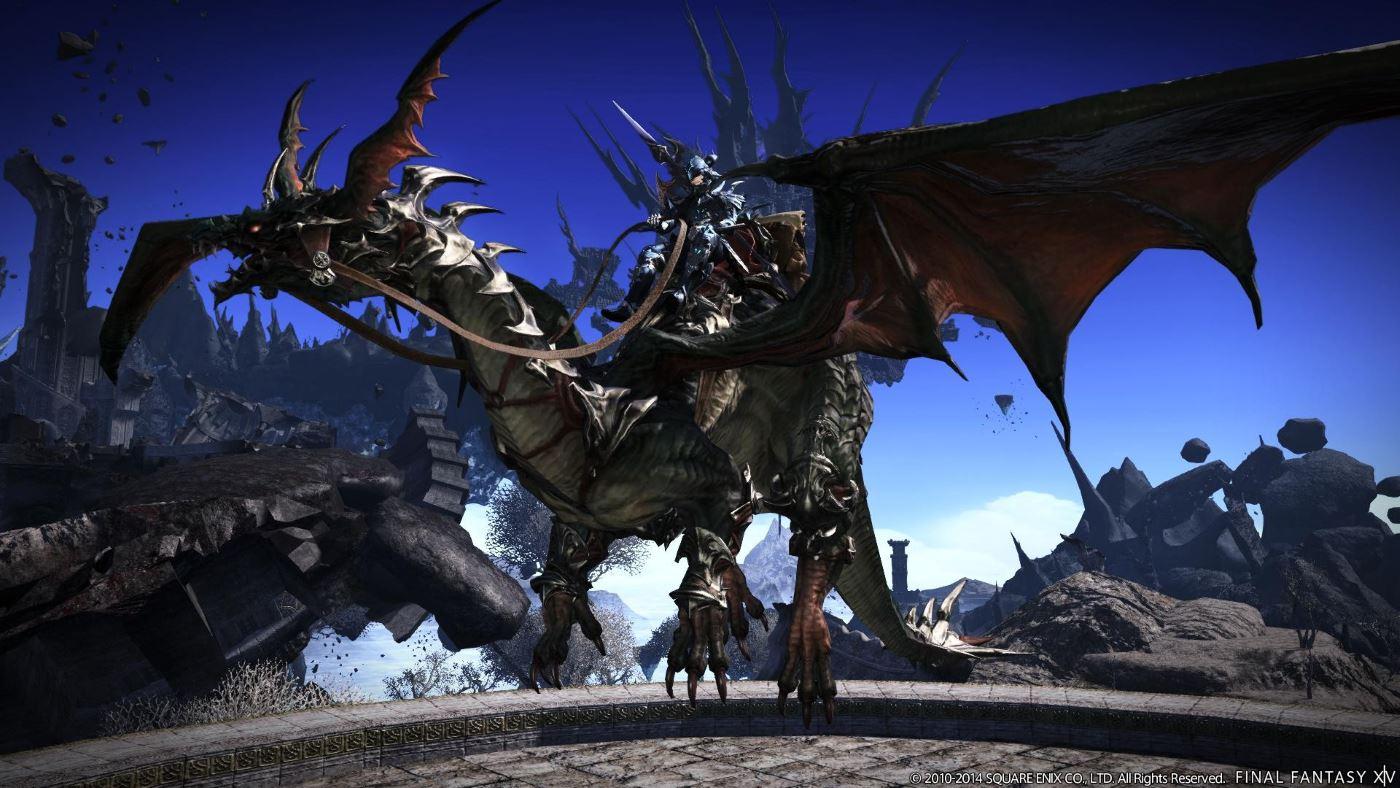 Final Fantasy XIV -Flug-Reittiiere