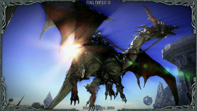 Final-Fantasy-XIV-Drachen