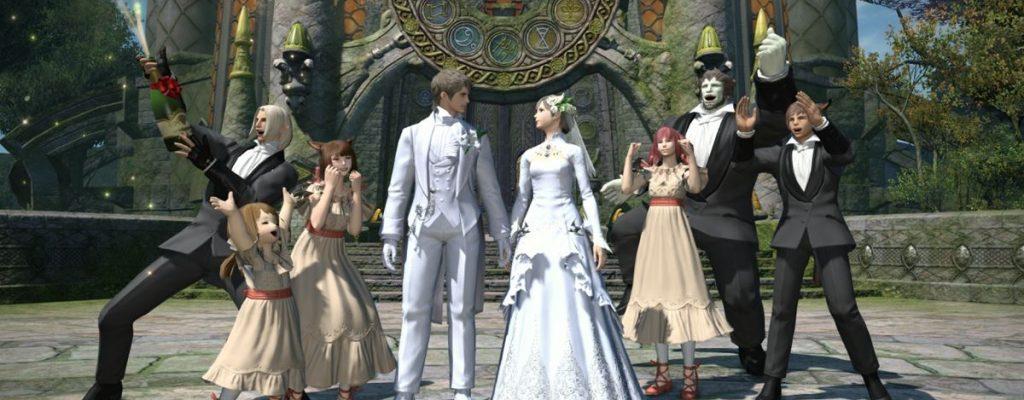 Final Fantasy XIV: Patch 2.45 lässt die Hochzeitsglocken läuten