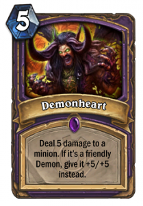 Hearthstone Demonheart