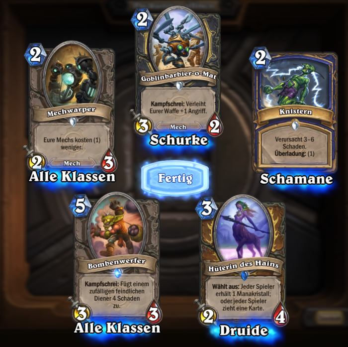 Hearthstone-Erstes-Pack