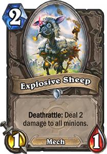 Hearthstone Explosive Sheep