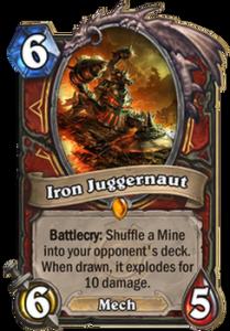 Hearthstone Iron Juggernaut