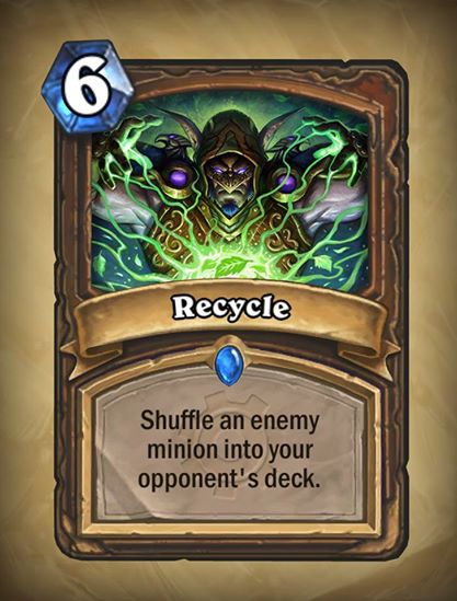 Hearthstone-Recycle