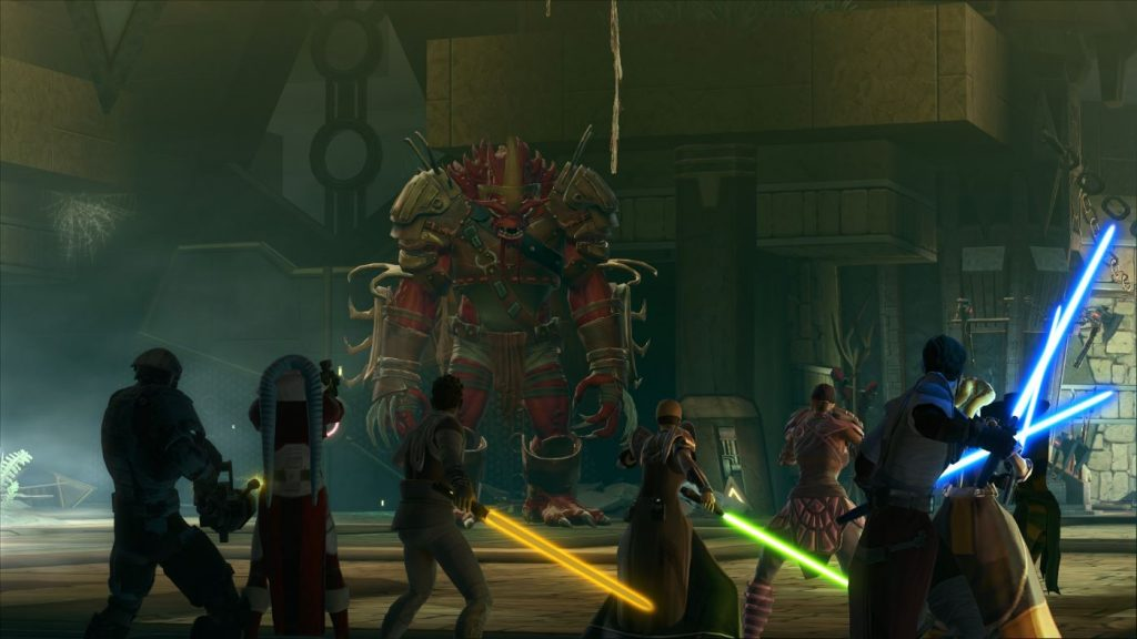 SWTOR Shadow of Revan Bosskampf 2
