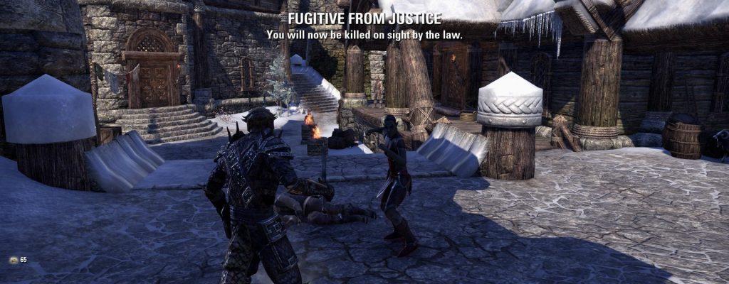 The Elder Scrolls Online: Wegen des brutalen Rechts-Systems jetzt laut PEGI ab 18