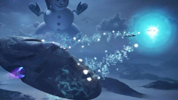 World of Warplanes: Kostenloses, ziemlich abgedrehtes Winter-Ufo-Event