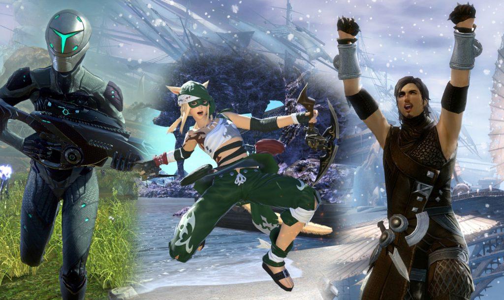 Planetside 2 - Final Fantasy XIV - Guild Wars 2