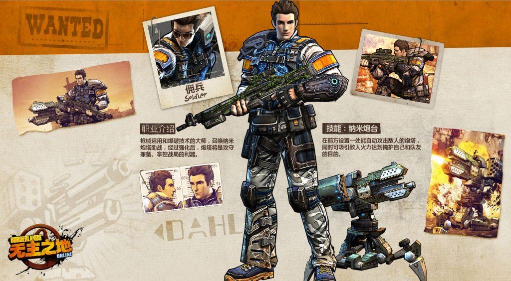 Borderlands-Online-Klasse-Soldat