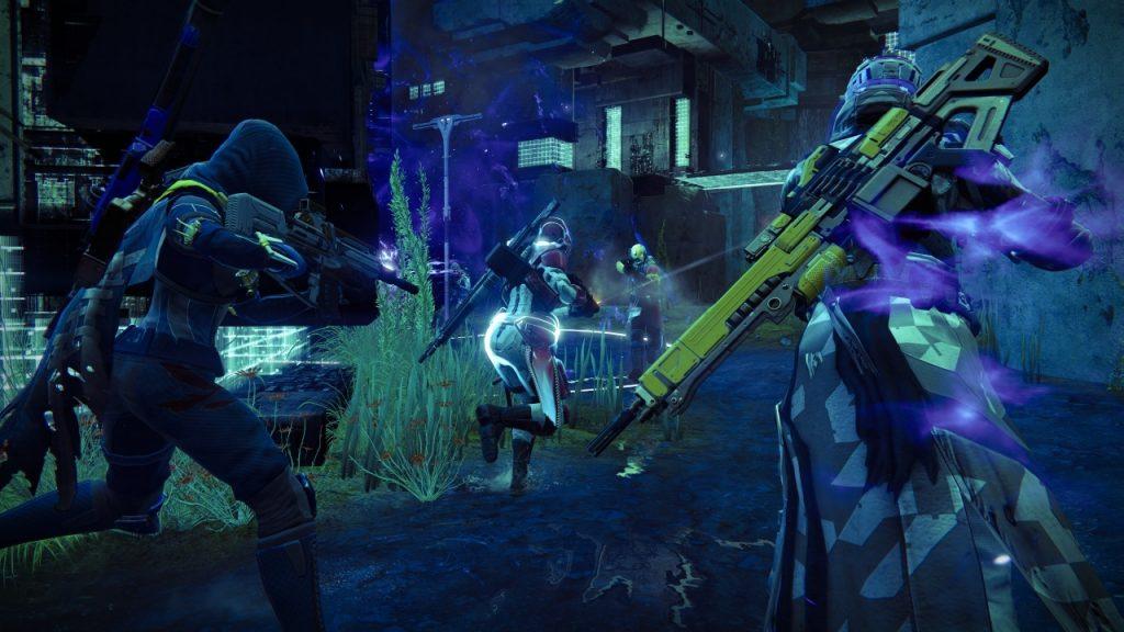 Destiny-Blau-machen