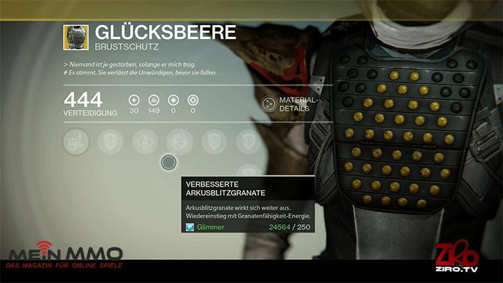 Destiny-Glücksbeere
