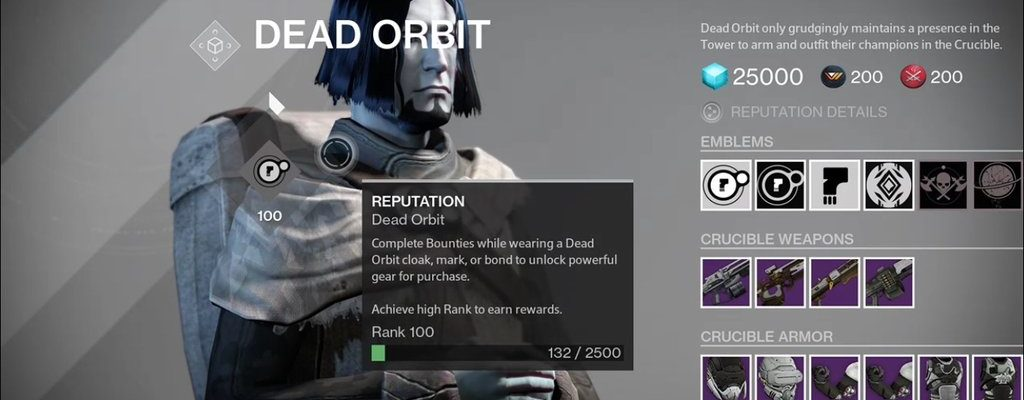Destiny: Nach 1200 Stunden erreicht ein Hüter Rang 100 bei Toter Orbit und bekommt …