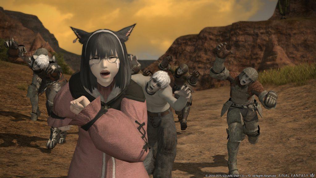Final-Fantasy-XIV-Zombie-Lauf