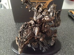 World of Warcraft Orc Statue