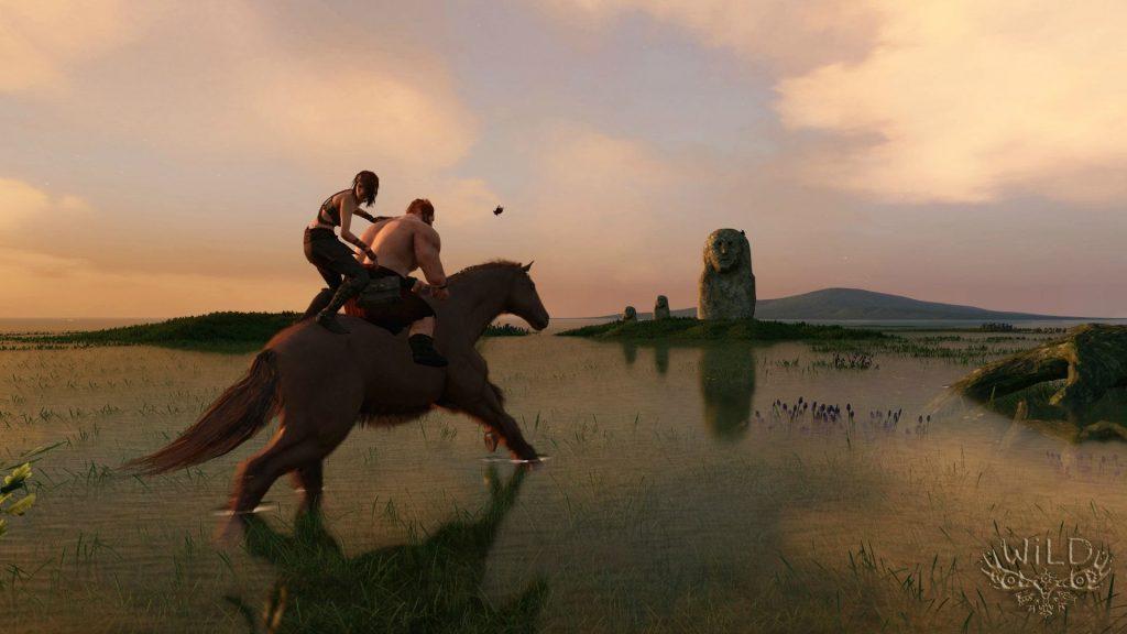 WiLD-Pferde-Duett