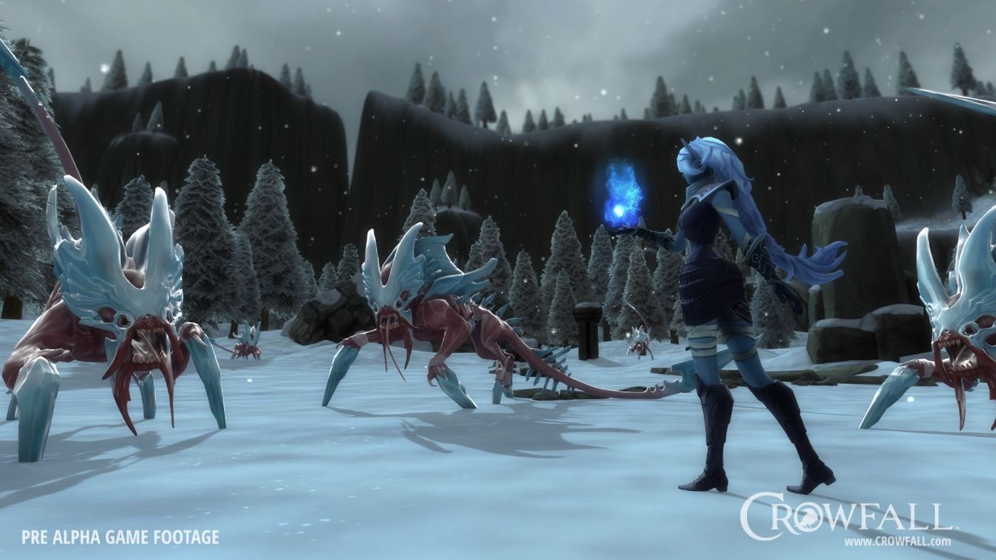 Crowfall Gameplay Alpha