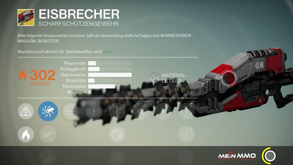 Destiny-Eisbrecher