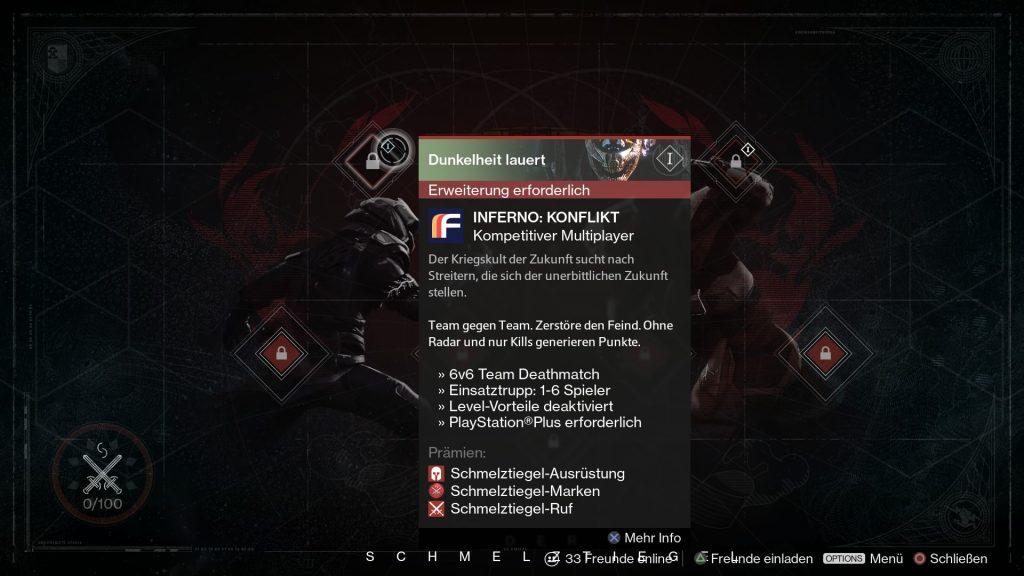 Destiny-Inferno-Konflikt