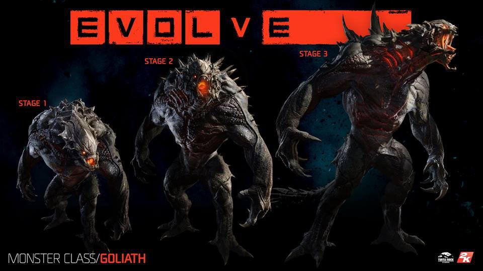 Evolve Monster Stage Goliath