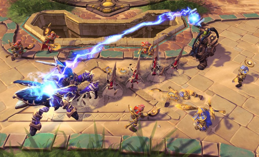Heroes of the Storm Ingame Screenshot