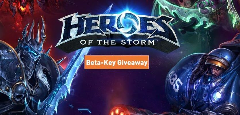 Heroes of the Storm: 10 Beta-Keys zu gewinnen!