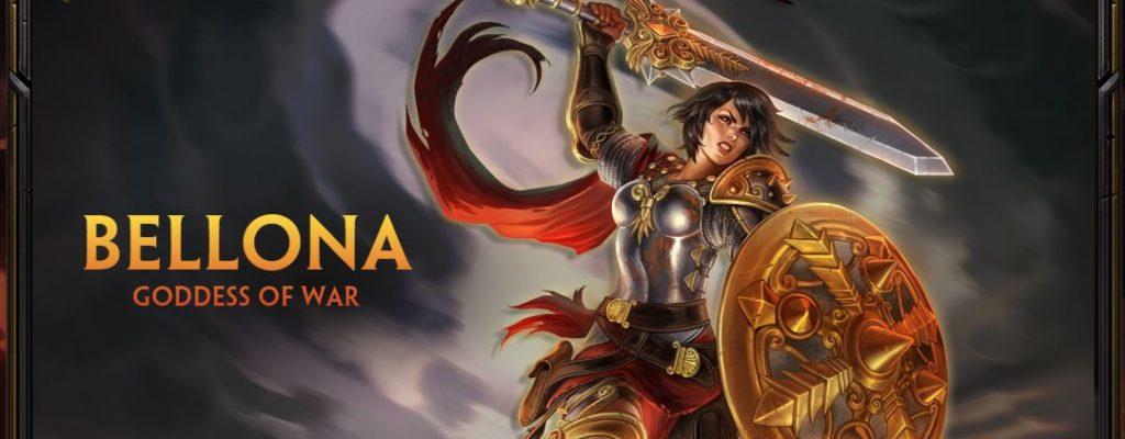 Smite – Neue Göttin: Bellona betritt das Schlachtfeld!